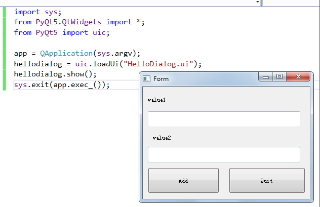Win7下PyQt5的最简单使用笔记| cstriker1407的笔记本